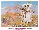 Mary Poppins 11x14 original lobby card 1980 re