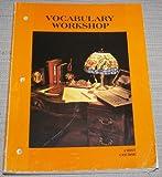Vocabulary Workshop, Harcourt Brace Jovanovich, 015320771X