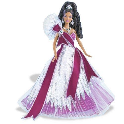 2005 Holiday Barbie - Burgundy (Ethnic) - Bob Mackie Holiday Barbie