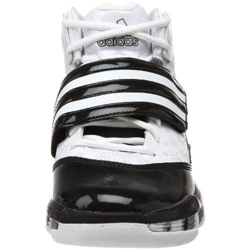 Adidas Femmes Ts Ace Commandant Équipe Basket Chaussure Running Blanc / Noir 1 / Argent Métallique
