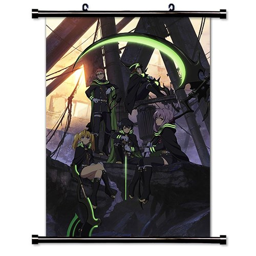 Seraph of the End Owari no Seraph Anime Fabric Wall Scroll Poster