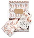 Milkbarn Newborn Keepsake Set - Rose Elephant