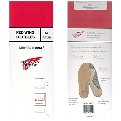 Red Wing Comfortforce Wing Red Wing Red Footbeds Comfortforce Beige Beige Footbeds Hp7qgw