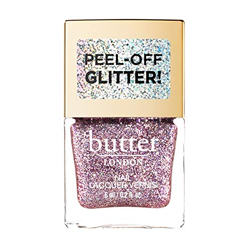 butter LONDON Glazen Peel-off Glitter Lacquer, Glitz