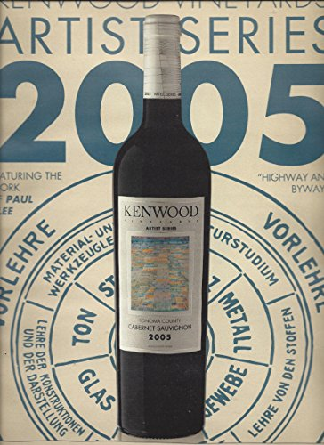 (PRINT AD For 2005 Kenwood Vineyards Artist Series Sonoma Cabernet Wine)