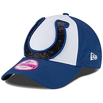 NFL Women's Glitter Glam Team 9FORTY Adjustable Cap by New Era Cap Company