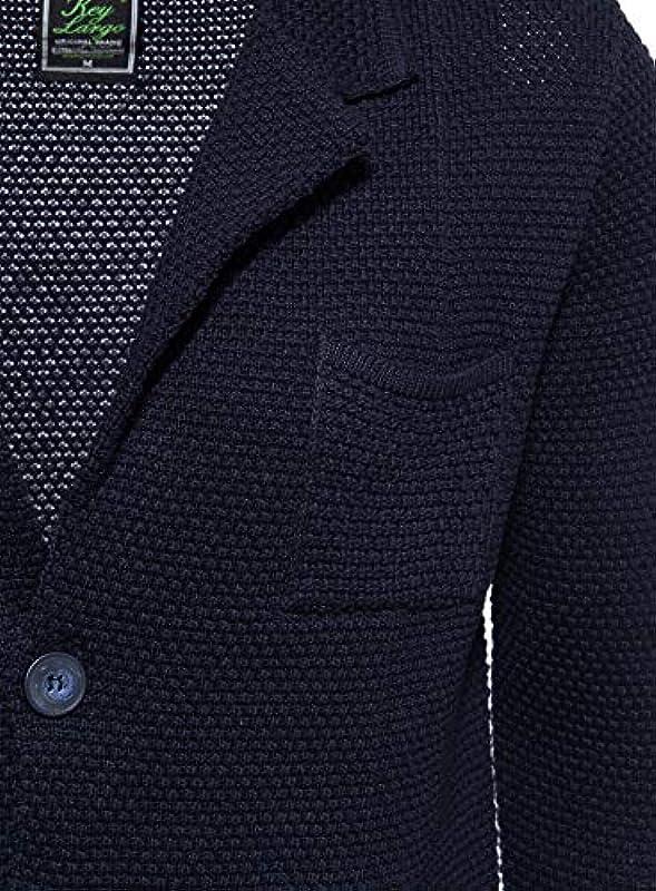 KEYLARGO MST Pressure męska kurtka z dzianiny z subtelnym kołnierzem: Odzież