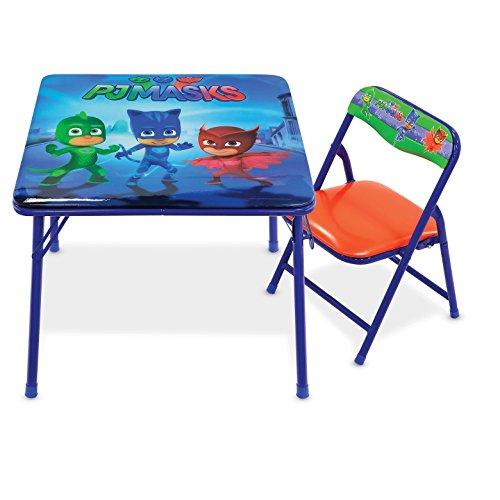 PJ Masks Disney's Jr. Table Set with 1 Chair (Disney Set Desk)