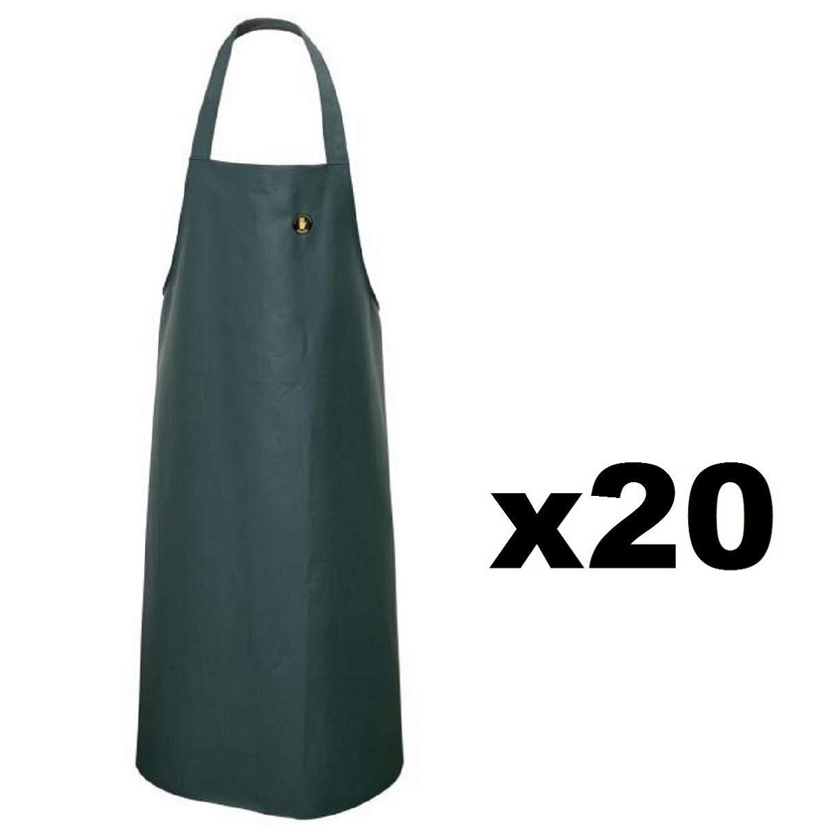 AJ-FWOIL10 Arbeitsschürze Gummischürze Schutzschürze Melkschürze Waschschürze