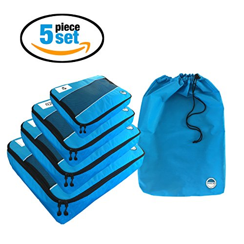 Packing-Cubes-5-Piece-with-Laundry-Bag-by-Cruise-On