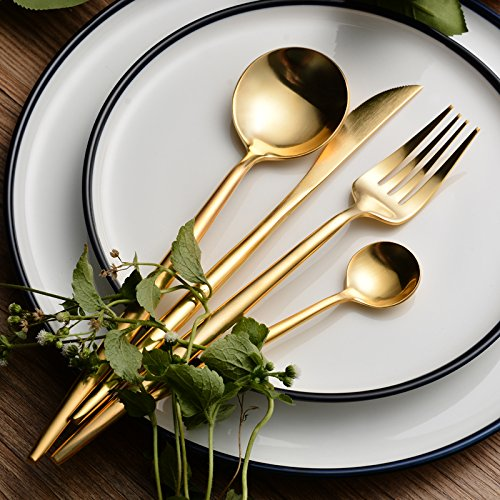 HomeChain Stainless Utensil Flatware 4 Piece product image