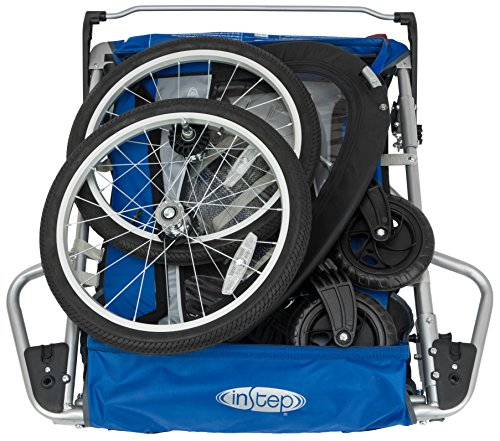 Instep Rocket 11 Double Child Carrier Bicycle Trailer 2