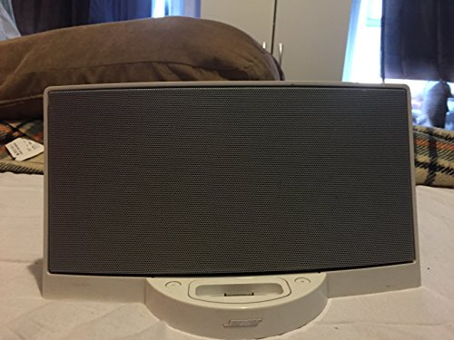 Bose SoundDock digital music system for iPod (White) (Ipod Nano Speaker System)