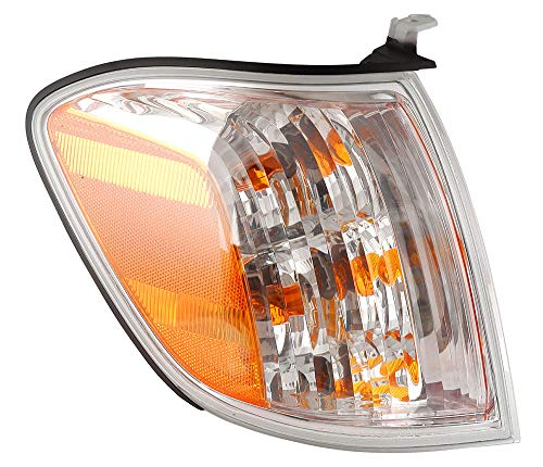 For 2005 2006 Toyota Tundra | Sequoia Double Cab Turn Signal Corner Light Lamp Passenger Side Replacement ()