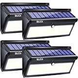 Cheap BAXIA TECHNOLOGY Outdoor Wireless 100 LED Solar Motion Sensor Waterproof Security Wall Lighting Outside for Front Door, Backyard, Steps, Garage, Garden (2000LM, 4PACK)