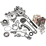 Evergreen TCK2000HPWOP Toyota 22R 22RE Heavy Duty Timing Chain Kit w/ Timing Cover, Oil Pump, GMB Water Pump