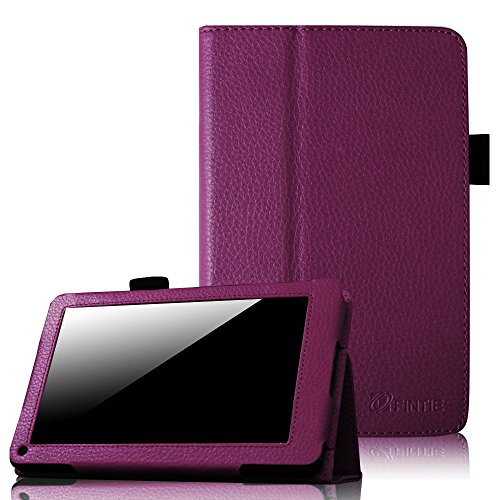 Fintie Folio Case for Kindle Fire 1st Generation - Slim Fit Stand Leather Cover for Amazon Kindle Fire 7