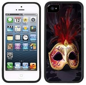 Carnival Mask Masquerade Handmade iPhone 4/4s Black Case