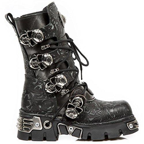 La mayor oferta de proveedores en línea Las Nuevas Botas De Rock-m.373 Cz59 Gótico Del Punk Hardrock Stiefel Unisex Schwarz Compre barato de alta calidad Venta 100% garantizada en línea nLJ4Ax