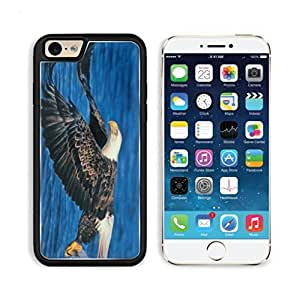 Animal Eagle Wildlife Bird Water America Apple iPhone 6 TPU Snap Cover Premium Aluminium Design Back Plate Case Customized Made to Order Support Ready Luxlady iPhone_6 Professional Case Touch Accessories Graphic Covers Designed Model Sleeve HD Template Wallpaper Photo Jacket Wifi Luxury Protector Wireless Cellphone Cell Phone