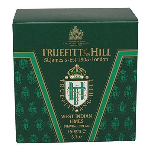 Truefitt & Hill - West Indian Limes Shaving Cream 190g/6.7oz by Truefitt & Hill