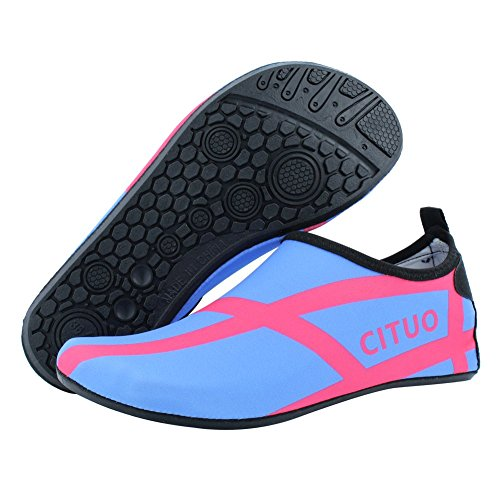 blue Beach Camp Women Sport Kids SENFI Pool Dry Shoes Men Water Lightweight C Quick Water q0w46qz
