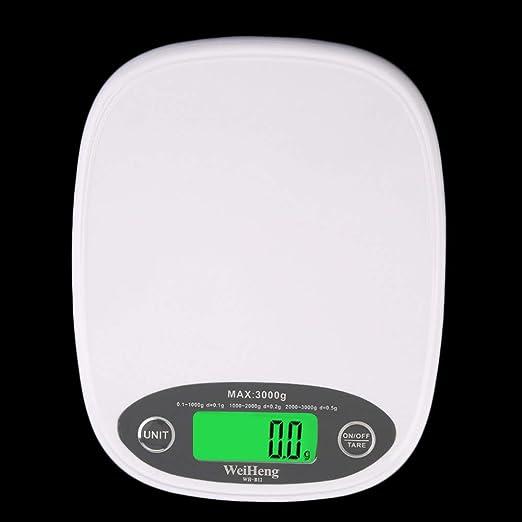 Erduo Weiss Slim Lcd Elektronische Kuche 3kg 0 5 Digitale Waage