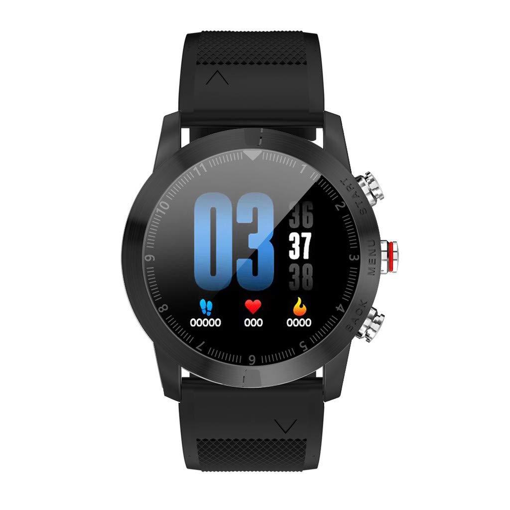 Amazon.com: WoCoo Smartwatch 1.3 IP68 S10 DTNO.1 Bluetooth ...