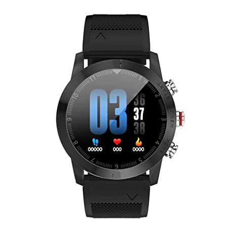 Amazon.com: WoCoo Smartwatch 1.3 IP68 S10 DTNO.1 Bluetooth Heart Rate Monitor 4.2 Smartwatch Waterproof Sport Watch Compass for Android iOS(C): Kitchen & ...