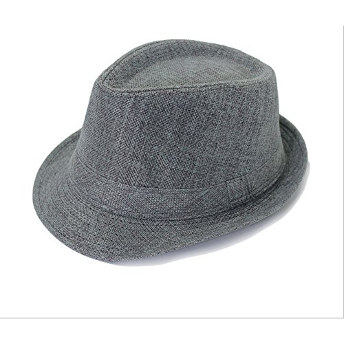 YOYEAH Panama Straw Hats Summer Short Brim Straw Fedora (Revgear Long Sleeve)