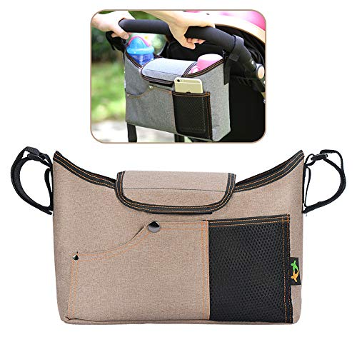 Buggy Organiser Storage Bag for Buggies, Plus 1x Free Buggy