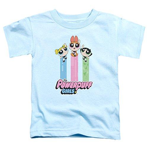 Trevco Powerpuff Girls The Girls Fly Unisex Toddler T Shirt for Boys and Girls ()
