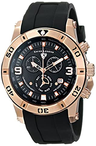 Swiss Legend Men's 10164-RG-01 Everest Rose Gold-Tone Stainless Steel Watch - Everest Rose