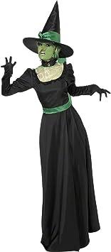 Disfraz de bruja para mujer M 40/42 de disfraz de bruja Halloween ...