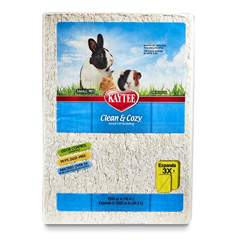 Kaytee Clean & Cozy Bedding, White, 49.2 Liters (Pack of 1)