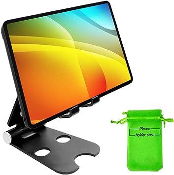 Kadeva Soporte movil Mesa Aluminio Soporte Tablet Mesa Universal Compatible con Todos los Smartphones y Todas Las Tablets pc del Mercado Soporte Mesa movil Tablet sobremesa Escritorio: Amazon.es: Electrónica