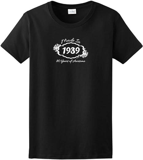 Amazon.com: 80th regalo de cumpleaños Made 1936 de 80 años ...