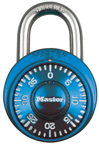 Master Lock 1528DTGT Combination Blue