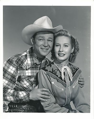 ROY ROGERS/PENNY EDWARDS/IN OLD AMARILLO/8X10 COPY PHOTO - Store Photo Amarillo