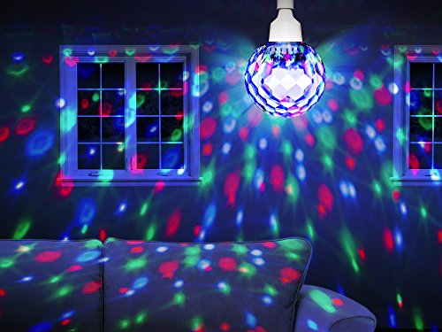 Ion Audio Party Ball 7 Quot Motorized Spinning Disco Light
