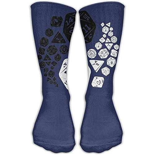 Price comparison product image Dungeons And Dragons Yin Yang Unisex Performance Crew Socks Protect The Wrist For Cycling Moisture Control Elastic Socks