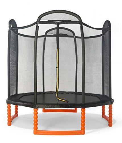 Duplay-Black-Edition-10ft-Trampoline-with-Air-Pro-Safety-Enclosure-Net-by-Duplay