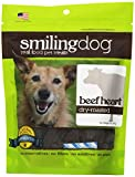 Herbsmith Smiling Dog Dry Roasted Beef Heart Treats for Dogs and Cats, 2.5-Ounce