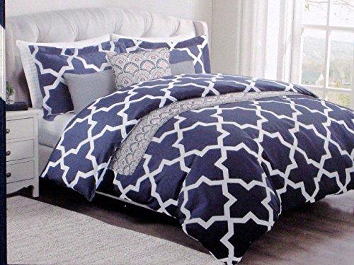 max studio home 3-pc KING SIZE cotton persian star duvet