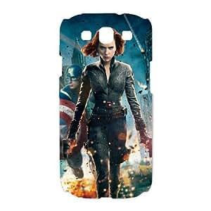 Samsung Galaxy S3 I9300 Phone Case White Black Widow VKL3067883