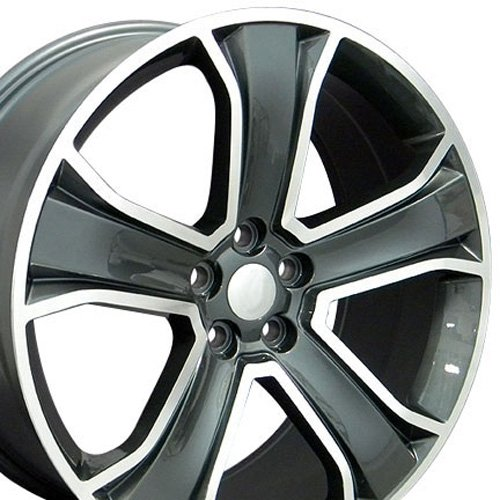 Range Rover Alloy Wheel (20x9.5 Wheels Fit Land Rover - Range Rover Style Gunmetal Rims - SET)