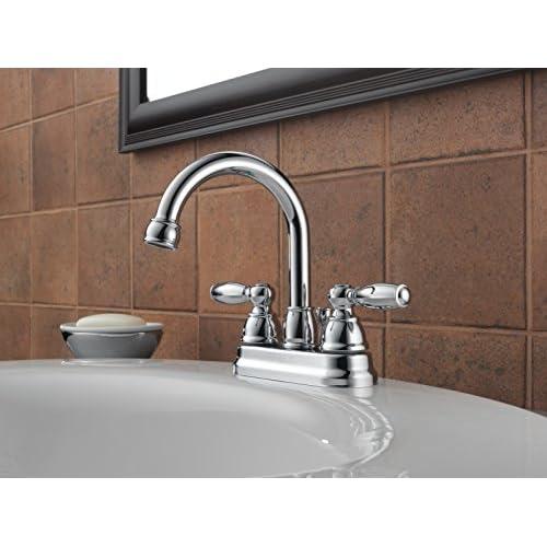chic Peerless P299685LF Apex Two Handle Lavatory Faucet, Chrome
