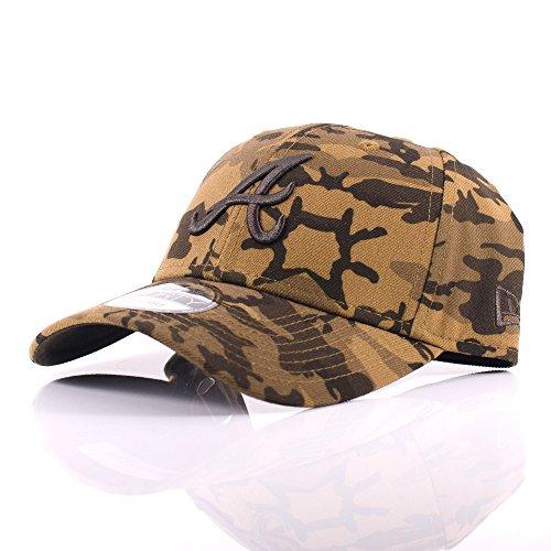 New Era - Gorra de béisbol - para hombre Marrón marrón Taille unique