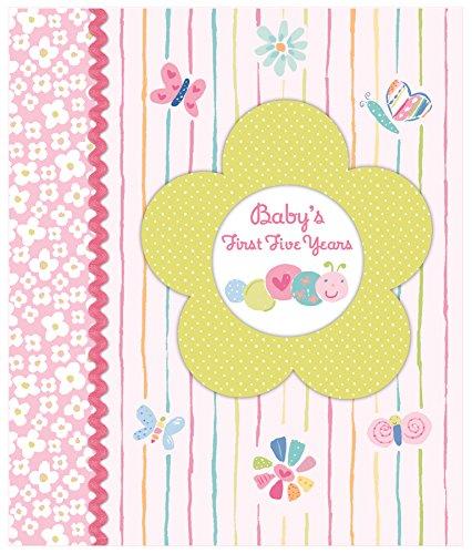 Babys First Five Years - Keepsake Memory Book (Pink)