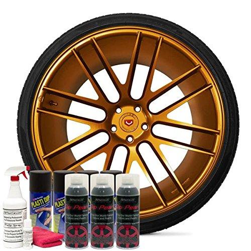 DipYourCar Popular Wheel Kit - Burnt Copper Alloy